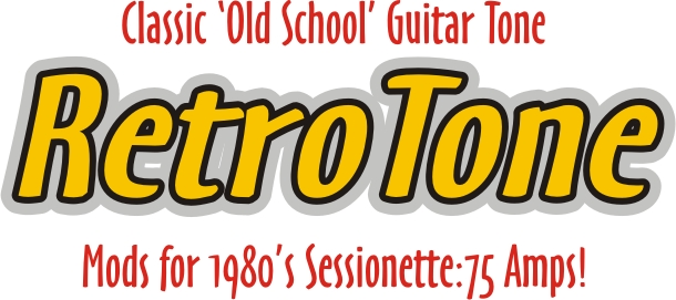 RetroTone Upgrade for all Sessionette guitar amps